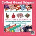 Nick Robinson - Coffret géant origami - Contient : un livre de modèles et 300 feuilles de papier origami à motifs japonais.