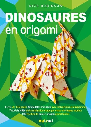 Dinosaures En Origami Grand Format