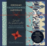 Torrent gratuit pour le téléchargement de livres Origami traditionnel japonais  - L'art du papier plié. Tout ce dont vous avez besoin pour commencer. Avec 120 feuilles de papier 9782917738641 RTF (Litterature Francaise)