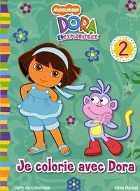 Nickelodeon - Je colorie avec Dora - Tome 2.