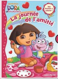 Nickelodeon - La journée de l'amitié - Ton histoire à colorier, Dora l'exploratrice.