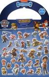 Nickelodeon et Dan Sylvain - Ma valisette de gommettes La Pat' Patrouille - 70 gommettes et 7 décors.