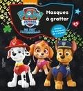 Nickelodeon - Masques à gratter Paw Patrol La Pat' Patrouille.