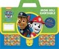Nickelodeon - Mon joli cartable La Pat'Patrouille - Plein de jolies stickers, des coloriages et des supers activités !.