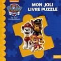 Nickelodeon - Mon joli livre puzzle La Pat'Patrouille.