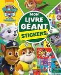 Nickelodeon - Mon livre géant stickers La Pat' Patrouille.