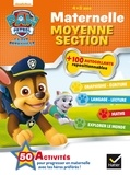Nickelodeon - Paw Patrol, la Pat' Patrouille maternelle moyenne section - 100 autocollants repositionnables.