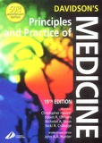 Nicki-R Colledge et Christopher Haslett - Davidson's Principles and Practice of Medicine. - 19th edition.