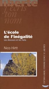 Nico Hirtt - L'école de l'inégalité.