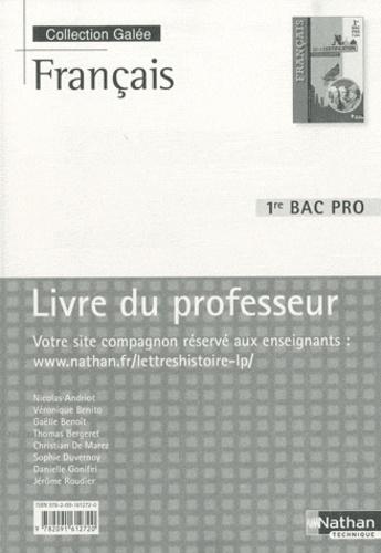 Francais 1e Bac Pro Livre Du Professeur