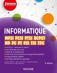 Nicolas Audfray et Jean-Loup Carré - Informatique - MPSI, PCSI, PTSI, BCPST, MP, PC, PT, PSI, TSI, TPC.