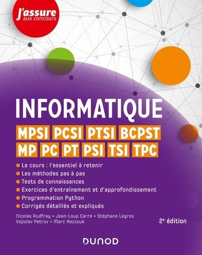 Nicolas Audfray et Jean-Loup Carré - Informatique - MPSI, PCSI, PTSI, BCPST, MP, PC, PT, PSI, TSI, TPC.
