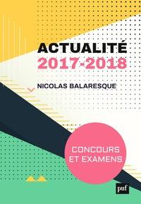 Nicolas Balaresque - Actualité 2017-2018 - Concours et examens.