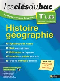 Nicolas Balaresque - Histoire Géographie Tle L, ES - Tout pour réussir l'épreuve.