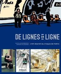 Goodtastepolice.fr De lignes en ligne - L'Art discret du croquis de métro Image