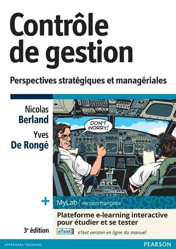 Contrôle de gestion. Perspectives stratégiques et managériales 3e édition