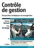 Nicolas Berland et Yves De Rongé - Contrôle de gestion - Perspectives stratégiques et managériales.