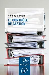 Nicolas Berland - Le contrôle de gestion.