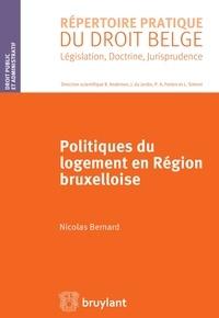 Nicolas Bernard - Politiques du logement en région bruxelloise.