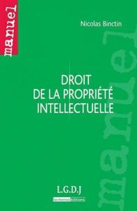 Nicolas Binctin - Droit de la propriété intellectuelle.
