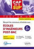 Nicolas Blanchard et Frédéric Boualavong - Réussir les concours d'entrée aux écoles d'ingénieurs post-bac - Avenir - Puissance Alpha - Toutes matières.