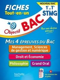 Nicolas Bloch et Delphine Roberjot-Duthion - Mes 4 épreuves du Bac 1re et Tle STMG - Tout-en-un.