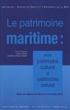 Nicolas Boillet et Géraldine Goffaux-Callebaut - Le patrimoine maritime : entre patrimoine culturel et patrimoine naturel - Actes du colloque de Brest, 23 et 24 juin 2016.