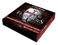 Nicolas Bonnefoy - Le trésor des Templiers - Un escape game pour décrypter le mystère des templiers. Avec des cartes énigmes, une règle et un rapporteur, une carte, le carnet du dernier chevalier de l'ordre.