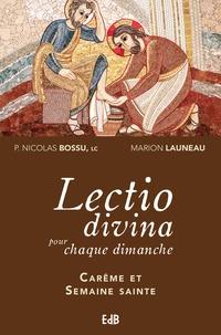 Feriasdhiver.fr Lectio divina pour chaque dimanche - Carême et semaine sainte (années A, B, C) Image