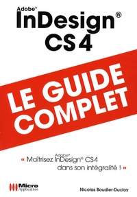 Nicolas Boudier-Ducloy - Indesign CS4.