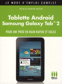 Nicolas Boudier-Ducloy - Tablette Android Galaxy Tab 2.