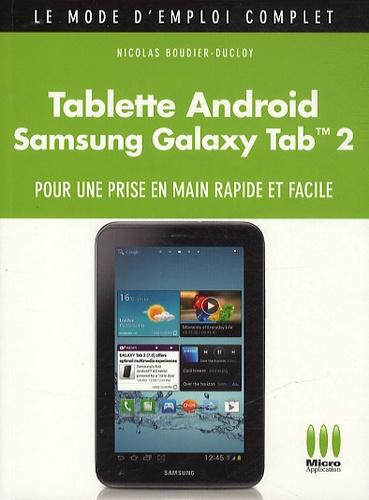 Samsung Galaxy Tab 2 Mode D Emploi