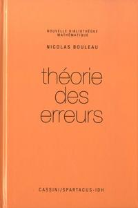 Nicolas Bouleau - Théorie des erreurs.