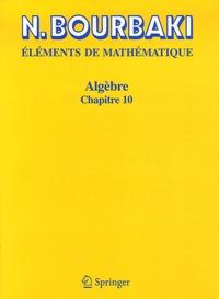 Nicolas Bourbaki - Algèbre - Chapitre 10, Algèbre homologique.