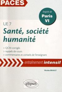 Era-circus.be Santé, société, humanité UE7 - Rappels de cours et QCM corrigés, inspiré de Paris VI Image