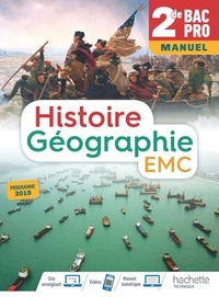 Livres audio français téléchargeables gratuitement Histoire-Géographie EMC 2de Bac Pro  - Manuel en francais