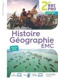 Nicolas Brunel et Isabelle Fira - Histoire Géographie EMC 2de Bac Pro - Cahier.