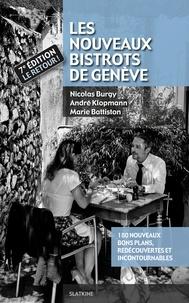Nicolas Burgy - Les nouveaux bistrots de Genève.