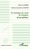 Nicolas Canova - La musique au coeur de l'analyse géographique.
