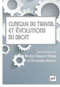 Clinique du travail et évolutions du droit - Séminaire interdisciplinaire de psychodynamique du travail.pdf