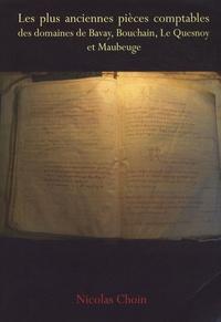 Galabria.be Les plus anciennes pièces comptables des domaines de Bavay, Bouchain, Le Quesnoy et Maubeuge Image