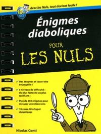 Enigmes diaboliques pour les nuls - Nicolas Conti