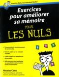 Nicolas Conti - Exercices pour améliorer sa mémoire pour les nuls.