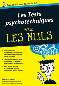Galabria.be Les Tests psychotechniques pour les nuls Image