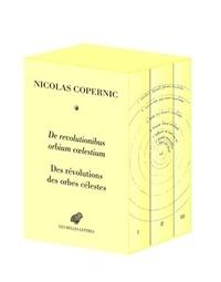 Nicolas Copernic - Des révolutions des orbes célestes - Coffret 3 volumes reliés, édition bilingue.