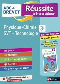Nicolas Coppens et Olivier Doerler - ABC BREVET REU  : ABC du Brevet Réussite Famille - Physique-Chimie / SVT / Technologie 3e.