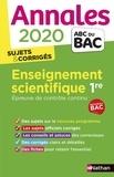 Nicolas Coppens et Laurent Lafond - Enseignement scientifique 1re - Sujets & corrigés.