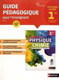 Nicolas Coppens et Valéry Prévost - Physique-Chimie 1re Sirius - Guide pédagogique pour l'enseignant.