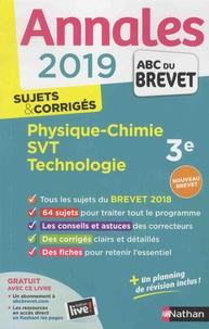 Nicolas Coppens et Olivier Doerler - Physique-Chimie, Sciences de la Vie et de la Terre, Technologie 3e - Sujets & corrigés.