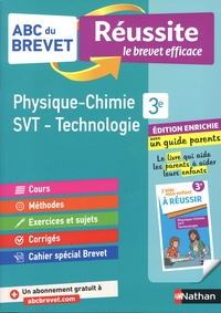 Nicolas Coppens - Physique-Chimie, Sciences de la Vie et de la Terre, Technologie 3e - Avec un guide parents.